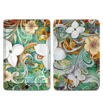 Apple iPad Mini 4 Skin - Sangria Flora