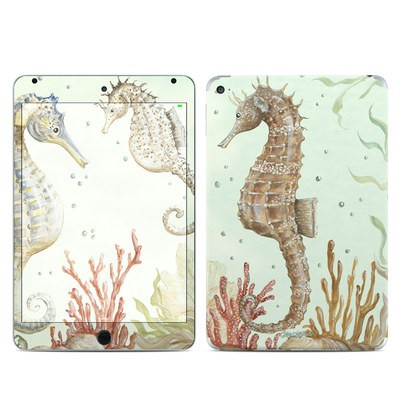 Apple iPad Mini 4 Skin - Seahorse Trio
