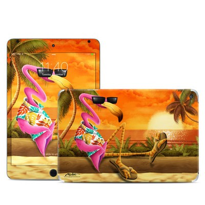 Apple iPad Mini 4 Skin - Sunset Flamingo