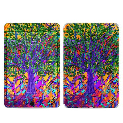 Apple iPad Mini 4 Skin - Stained Glass Tree