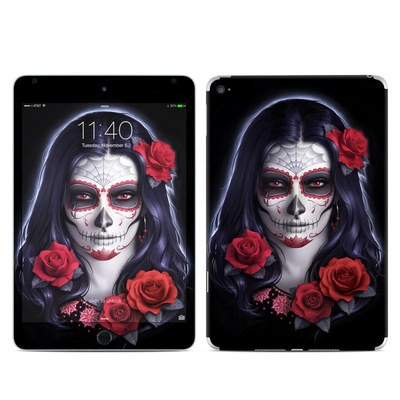 Apple iPad Mini 4 Skin - Sugar Skull Rose