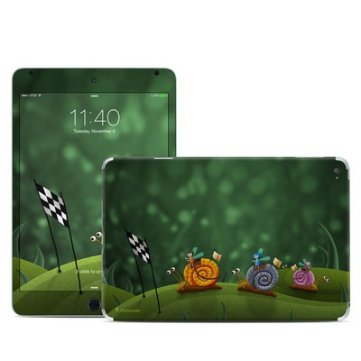Apple iPad Mini 4 Skin - Snail Race
