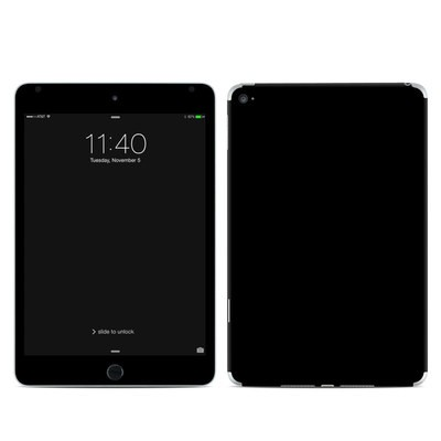 Apple iPad Mini 4 Skin - Solid State Black