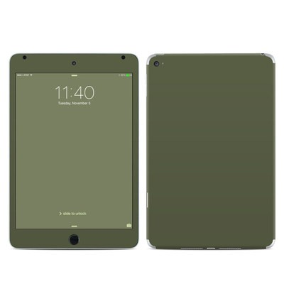 Apple iPad Mini 4 Skin - Solid State Olive Drab