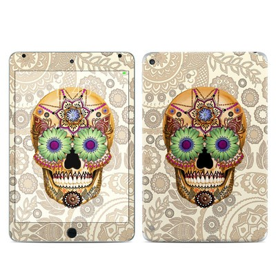 Apple iPad Mini 4 Skin - Sugar Skull Bone