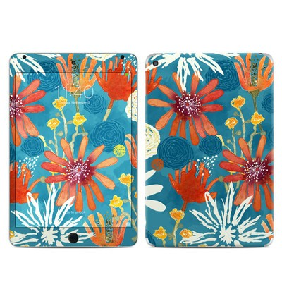 Apple iPad Mini 4 Skin - Sunbaked Blooms