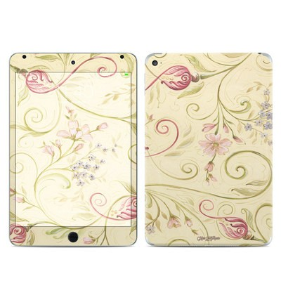 Apple iPad Mini 4 Skin - Tulip Scroll