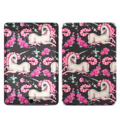 Apple iPad Mini 4 Skin - Unicorns and Roses