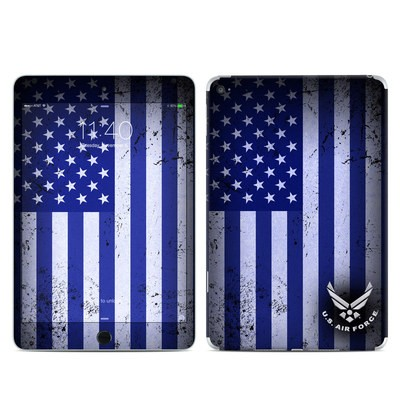 Apple iPad Mini 4 Skin - USAF Flag