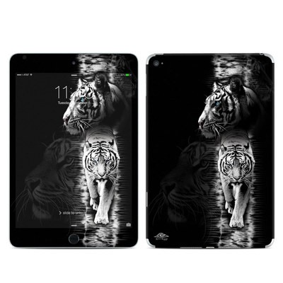 Apple iPad Mini 4 Skin - White Tiger