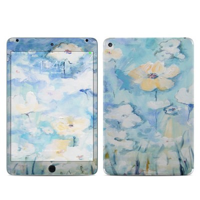 Apple iPad Mini 4 Skin - White & Blue