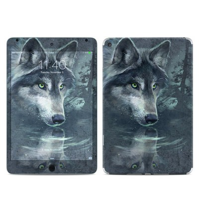 Apple iPad Mini 4 Skin - Wolf Reflection