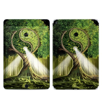 Apple iPad Mini 4 Skin - Yin Yang Tree