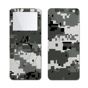 iPod nano Skin - Digital Urban Camo