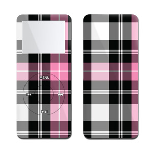 iPod nano Skin - Pink Plaid