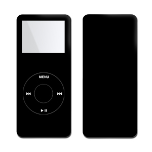 iPod nano Skin - Solid State Black