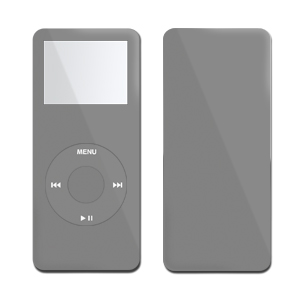 iPod nano Skin - Solid State Grey