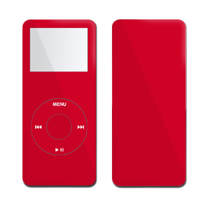 iPod nano Skin - Solid State Red