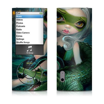 iPod nano (5G) Skin - Alligator Girl
