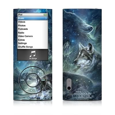 iPod nano (5G) Skin - Bark At The Moon