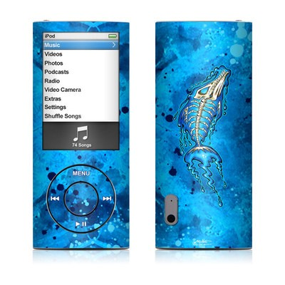 iPod nano (5G) Skin - Barracuda Bones