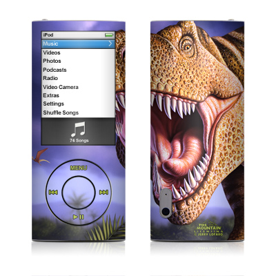 iPod nano (5G) Skin - Brown Rex