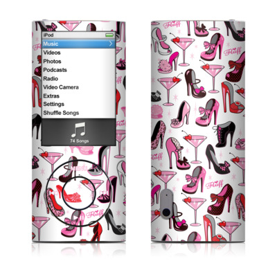 iPod nano (5G) Skin - Burly Q Shoes
