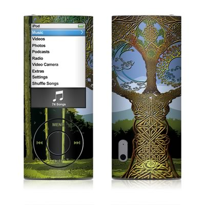 iPod nano (5G) Skin - Celtic Tree