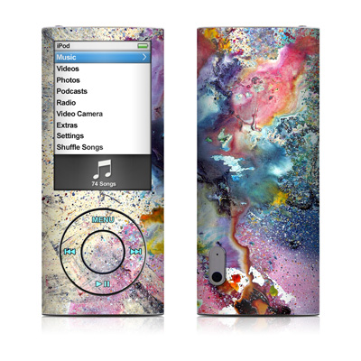 iPod nano (5G) Skin - Cosmic Flower