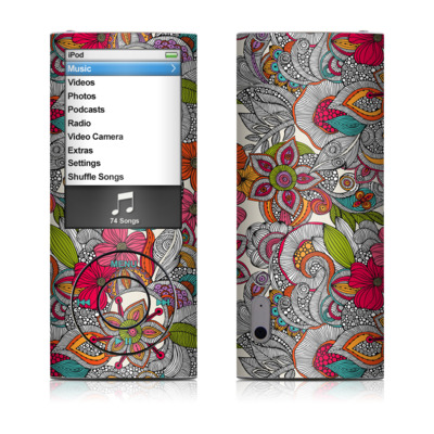 iPod nano (5G) Skin - Doodles Color