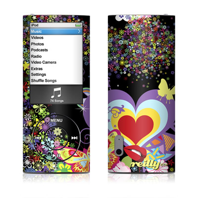 iPod nano (5G) Skin - Flower Cloud