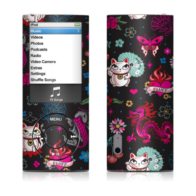 iPod nano (5G) Skin - Geisha Kitty
