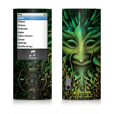 iPod nano (5G) Skin - Greenman