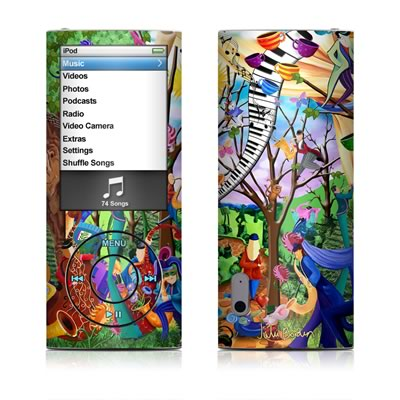 iPod nano (5G) Skin - Happy Town Celebration