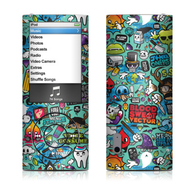 iPod nano (5G) Skin - Jewel Thief
