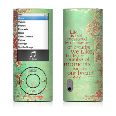 iPod nano (5G) Skin - Measured