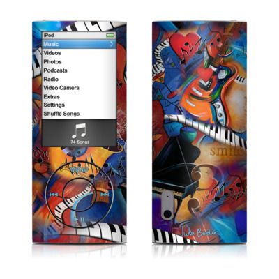 iPod nano (5G) Skin - Music Madness