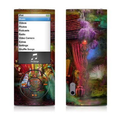 iPod nano (5G) Skin - A Mad Tea Party