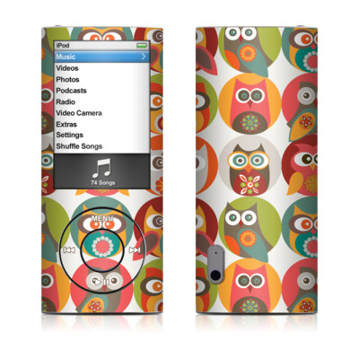 iPod nano (5G) Skin - Owls Family