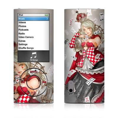 iPod nano (5G) Skin - Queen Of Cards