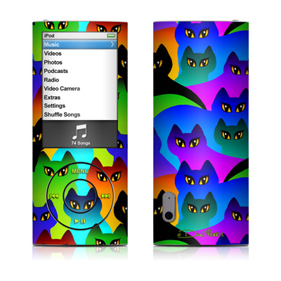 iPod nano (5G) Skin - Rainbow Cats