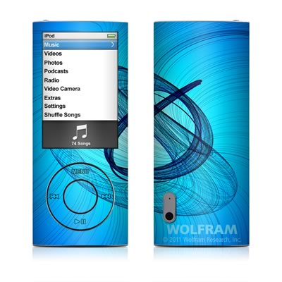 iPod nano (5G) Skin - Rotating Swirls