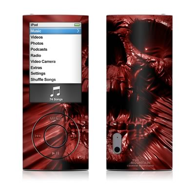 iPod nano (5G) Skin - Skull Blood