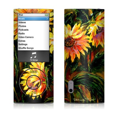 iPod nano (5G) Skin - Sunflower Sunshine