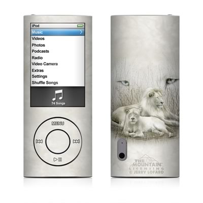 iPod nano (5G) Skin - White Lion