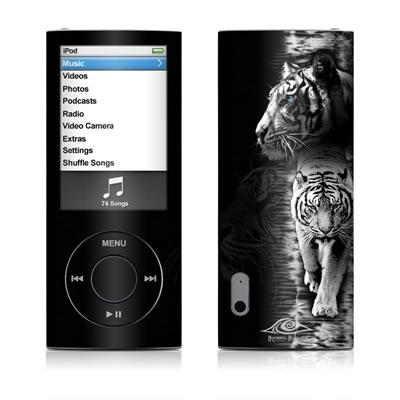 iPod nano (5G) Skin - White Tiger