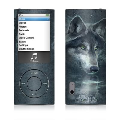 iPod nano (5G) Skin - Wolf Reflection