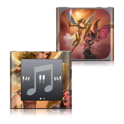 Apple iPod nano (6G) Skin - Angel vs Demon