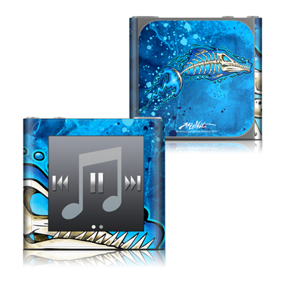 Apple iPod nano (6G) Skin - Barracuda Bones