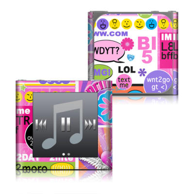 Apple iPod nano (6G) Skin - BFF Girl Talk